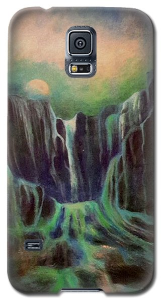 Night Of The Fall  Galaxy S5 Case by Alison Caltrider