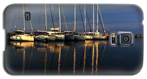Night On Paros Island Greece Galaxy S5 Case by Colette V Hera  Guggenheim