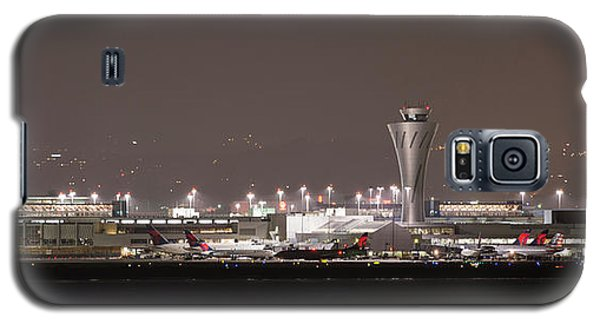 Galaxy S5 Case featuring the photograph Night Operations by Alex Lapidus