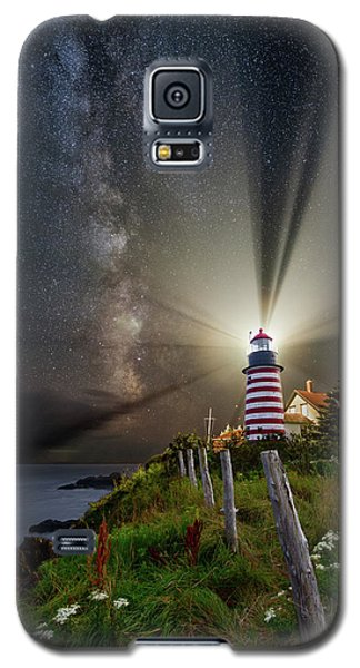 Night Over West Quoddy Galaxy S5 Case