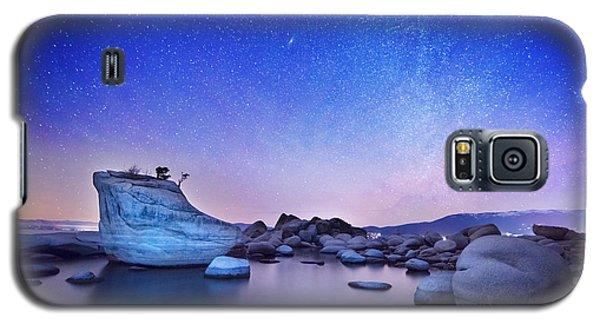 Night Shine , Bonsai Rock Lake Tahoe Galaxy S5 Case