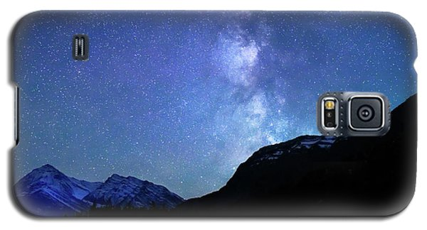 Galaxy S5 Case featuring the photograph Night Sky In David Thomson Country by Dan Jurak