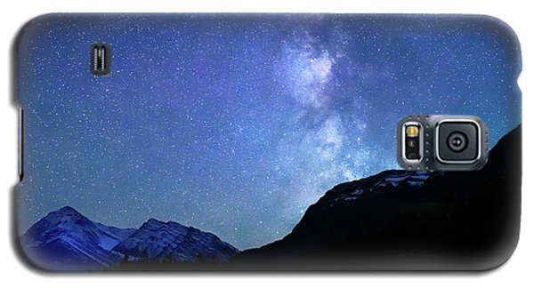 Night Sky In David Thomson Country Galaxy S5 Case