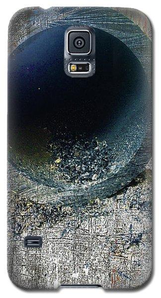 Galaxy S5 Case featuring the mixed media Night by Tony Rubino
