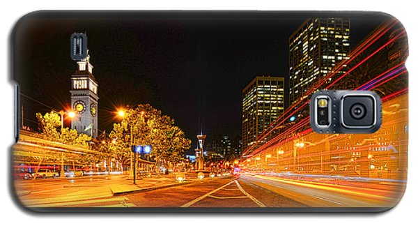 Night Trolley On Time Galaxy S5 Case