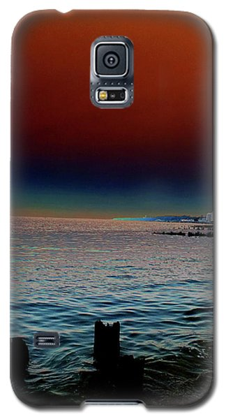 Night Winds And Waves Galaxy S5 Case