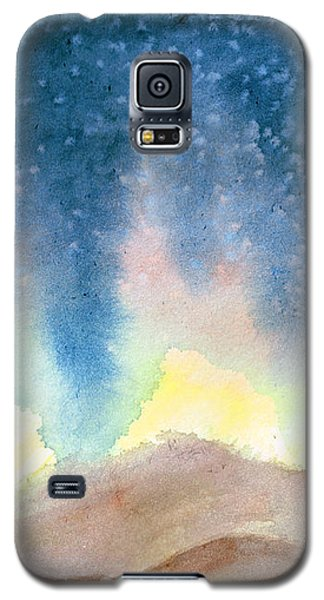 Galaxy S5 Case featuring the painting Nightfall by Andrew Gillette