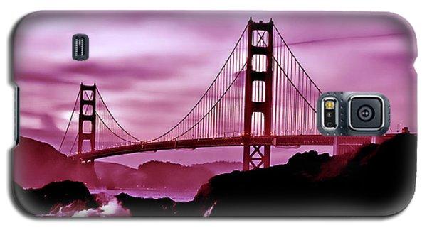 Nightfall At The Golden Gate Galaxy S5 Case