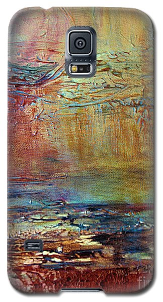 Galaxy S5 Case featuring the painting Nightfall by Diana Bursztein