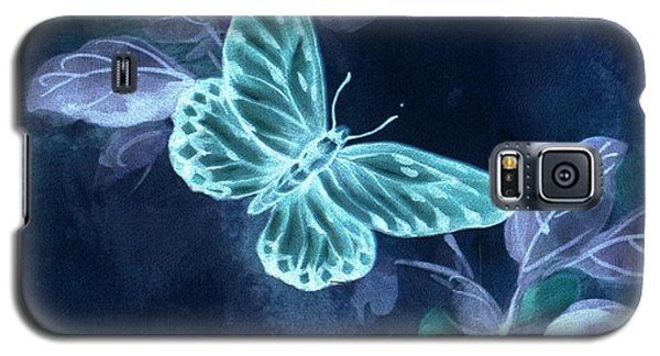 Nightglow Butterfly Galaxy S5 Case