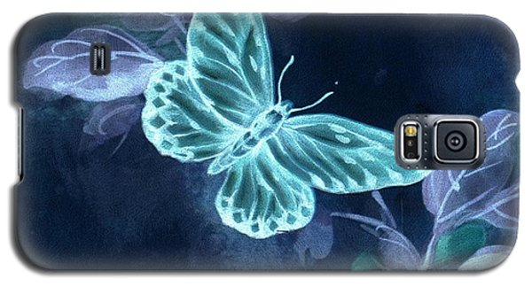 Nightglow Butterfly Galaxy S5 Case