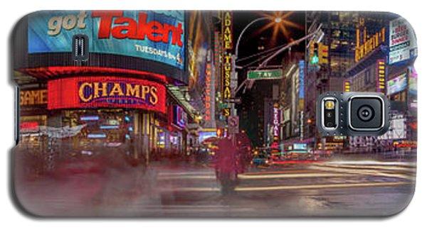 Nights On Broadway Galaxy S5 Case by Az Jackson