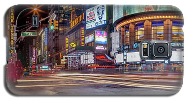 Galaxy S5 Case featuring the photograph Nights On Broadway by Az Jackson