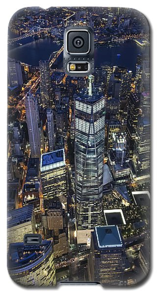 Nighttime Aerial View Of 1 Wtc Galaxy S5 Case
