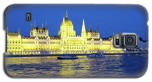 Nighttime Budapest Galaxy S5 Case