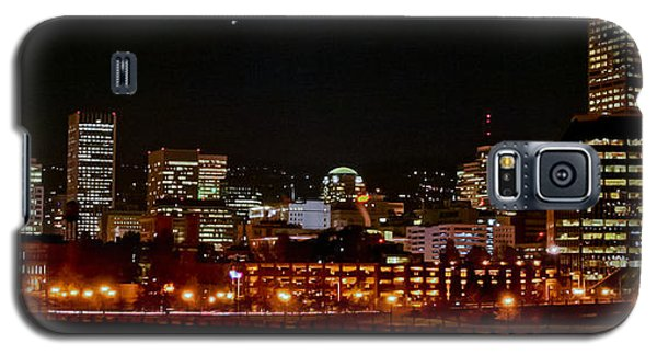 Nighttime In Pdx Galaxy S5 Case