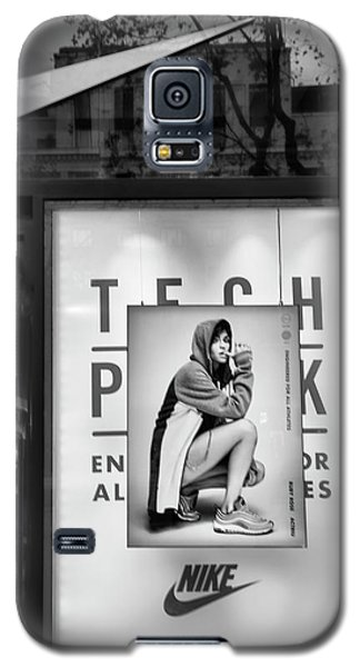 Nike Display Street Photo Black Retail Store  Galaxy S5 Case