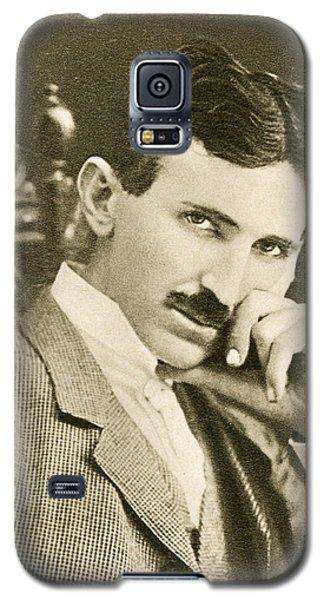 Nikola Tesla, Serbian-american Inventor Galaxy S5 Case