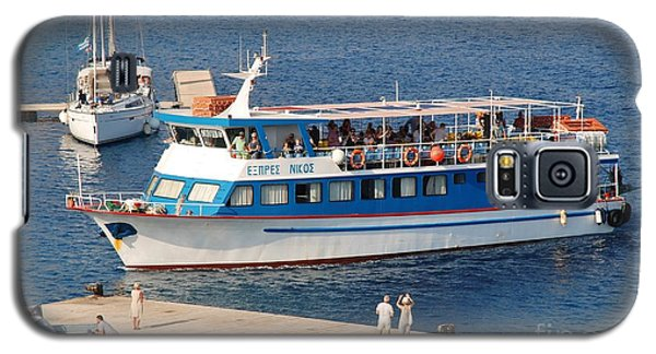 Nikos Express Ferry At Halki Galaxy S5 Case