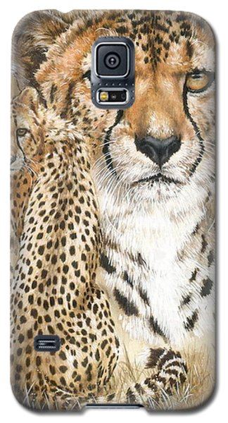 Galaxy S5 Case featuring the painting Nimble by Barbara Keith