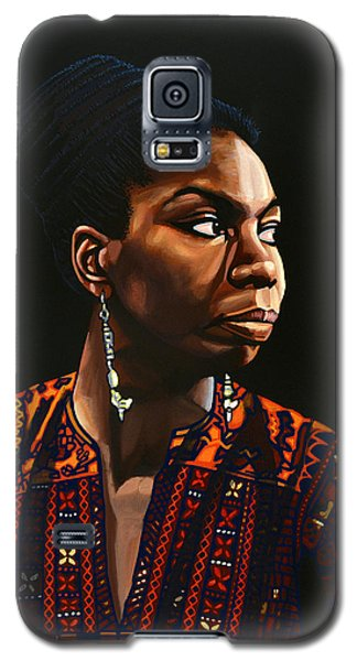 Nina Simone Painting Galaxy S5 Case