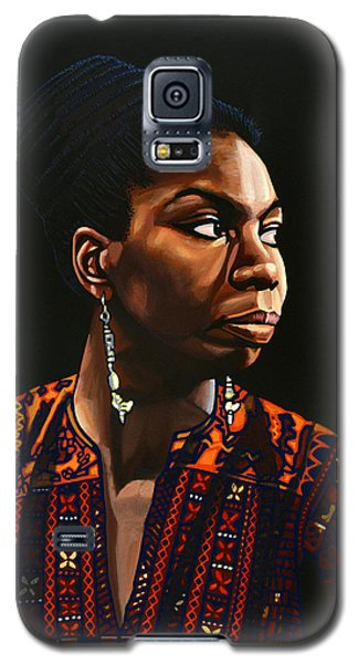 Nina Simone Painting Galaxy S5 Case