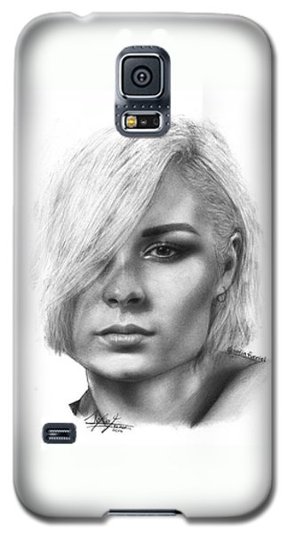 Nina Nesbitt Drawing By Sofia Furniel Galaxy S5 Case