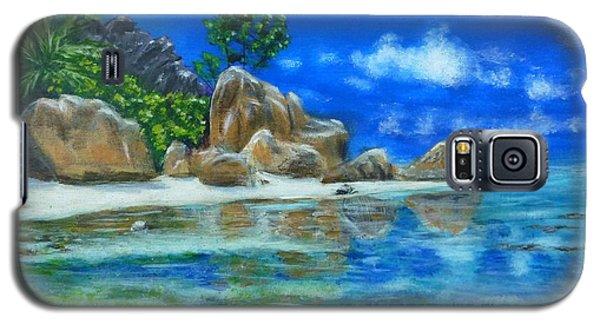 Nina's Beach Galaxy S5 Case