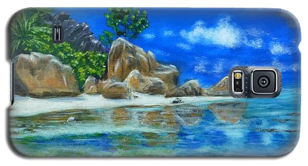 Nina's Beach Galaxy S5 Case