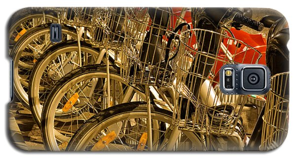 Bikes For Hire In Lyon Galaxy S5 Case