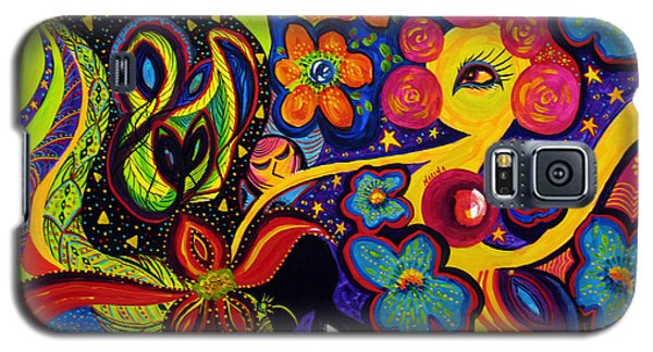 Joyful Galaxy S5 Case by Marina Petro
