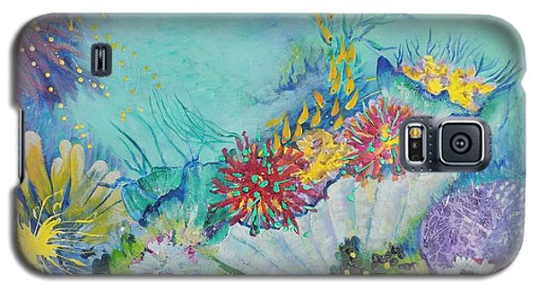 Ningaloo Reef Galaxy S5 Case by Lyn Olsen
