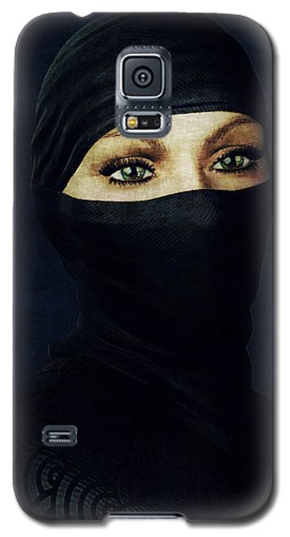 Ninja Portrait Galaxy S5 Case