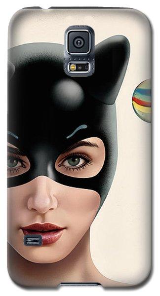 Nippon Kitty Upside Down Galaxy S5 Case