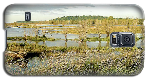 Nisqually Tide Coming In Galaxy S5 Case