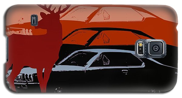 Nissan 210 With Deer 3 Galaxy S5 Case