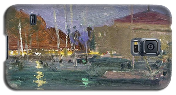 Nite Avalon Harbor - Catalina Island Galaxy S5 Case