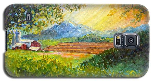 Nixon's Majestic Farm View Galaxy S5 Case
