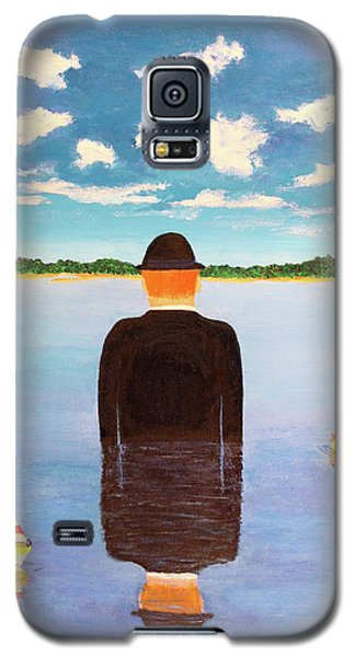 No Man Is An Island Galaxy S5 Case