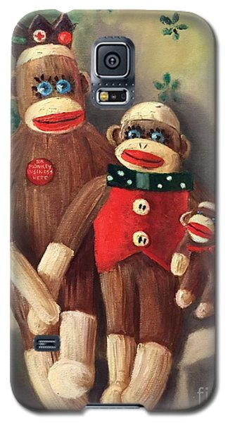 No Monkey Business Here 2 Galaxy S5 Case