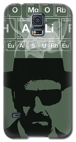 No More Half Measures - Breaking Bad Poster Walter White Quote Galaxy S5 Case
