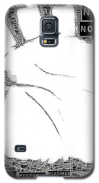 No Pictures Galaxy S5 Case by ISAW Gallery