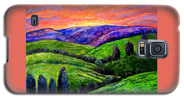 No Place Like The Hills Of Tennessee Galaxy S5 Case by Kimberlee Baxter
