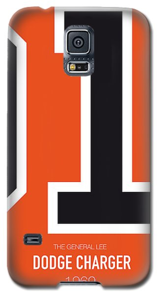 Duke Galaxy S5 Case - No001 My The Dukes Of Hazard Minimal Movie Car Poster by Chungkong Art