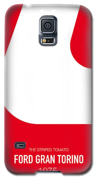 Duke Galaxy S5 Case - No003 My Starsky And Hutch Minimal Movie Car Poster by Chungkong Art