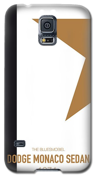 Duke Galaxy S5 Case - No004 My Blues Brothers Minimal Movie Car Poster by Chungkong Art
