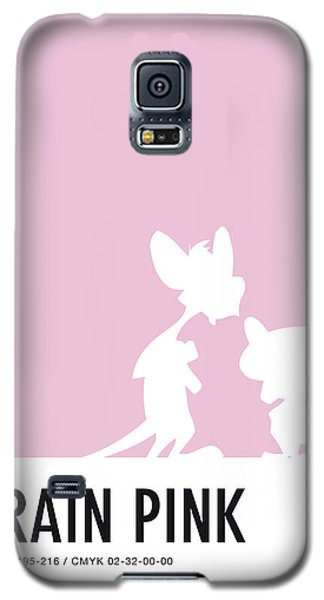 Mouse Galaxy S5 Case - No01 My Minimal Color Code Poster Pinky And The Brain by Chungkong Art