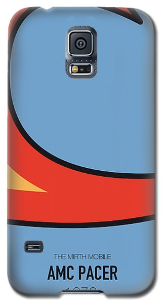 Duke Galaxy S5 Case - No010 My Waynes World Minimal Movie Car Poster by Chungkong Art