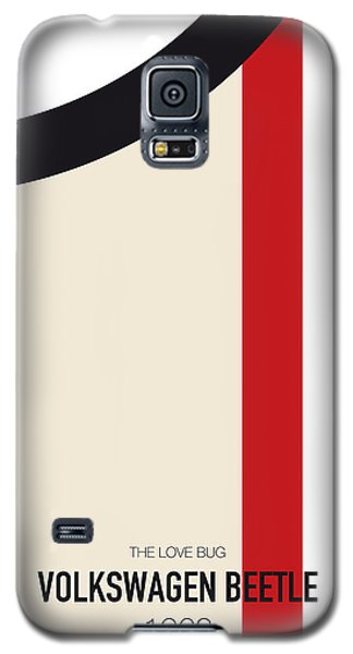 Knight Galaxy S5 Case - No014 My Herbie Minimal Movie Car Poster by Chungkong Art