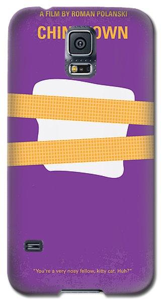 No015 My Chinatown Minimal Movie Poster Galaxy S5 Case by Chungkong Art